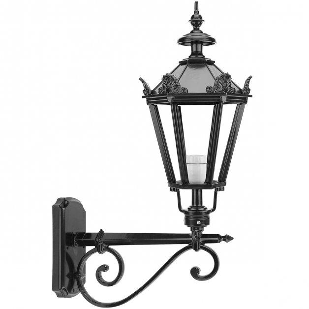 Outdoor Lighting Classic Rural Facade Lamp Reusel with crowns - 83 cm