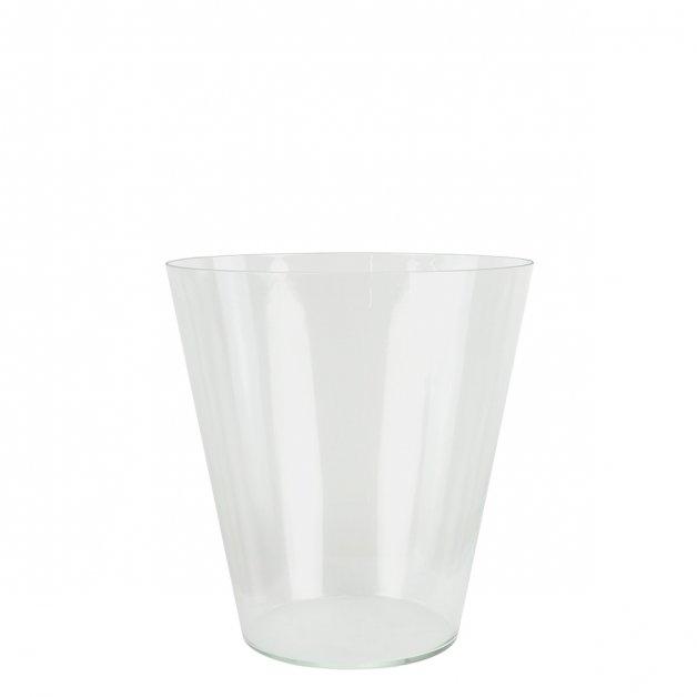 Buitenverlichting Onderdelen Glas beker lamp transparant K28 - 15.5 cm