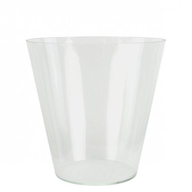 Buitenlampen Onderdelen Glazen kelk buitenlantaarn K26 - 30.5 cm