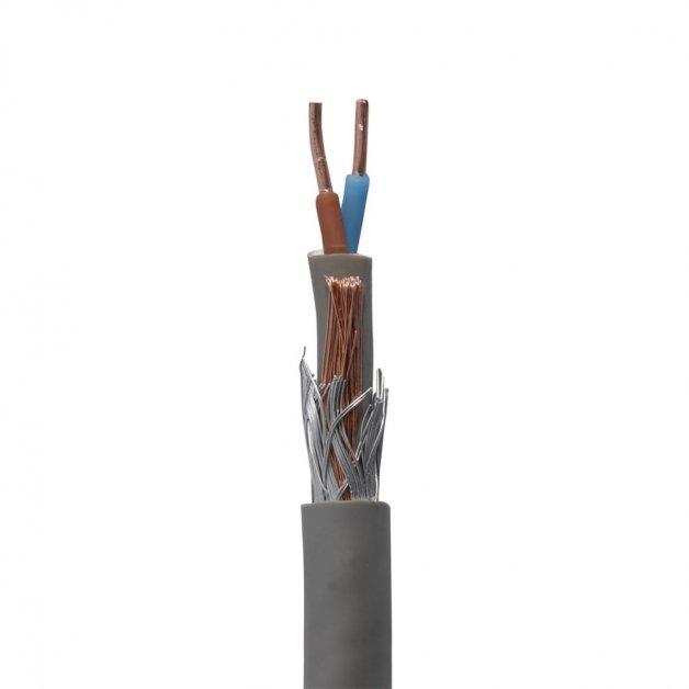 Buitenverlichting Aansluitmateriaal Grondkabel 2 x 2.5 mm2 met aardedraad - 50 m