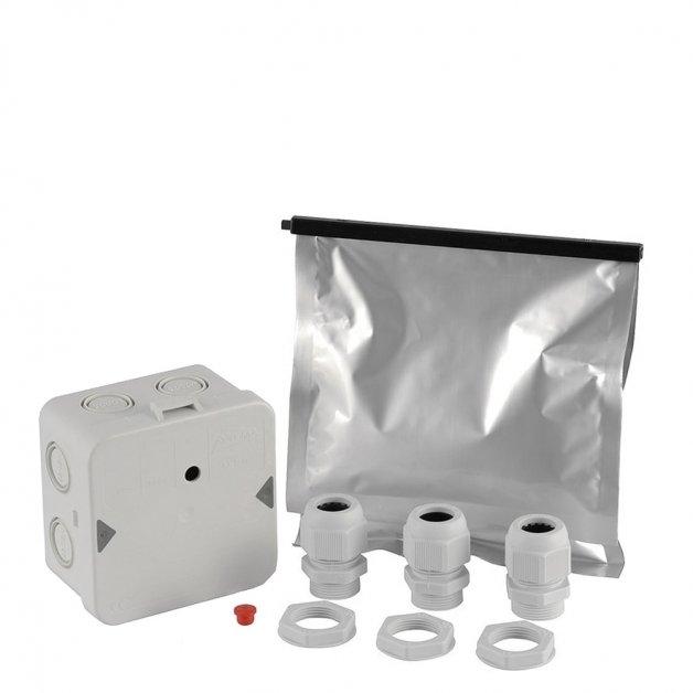 Buitenverlichting Aansluitmateriaal Grondkabeldoos pakket waterdicht - 10-delig