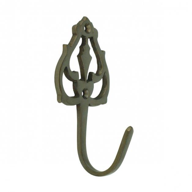 Hardware Coat Hooks Jacket hook ornaments bronze Halle - 95 mm