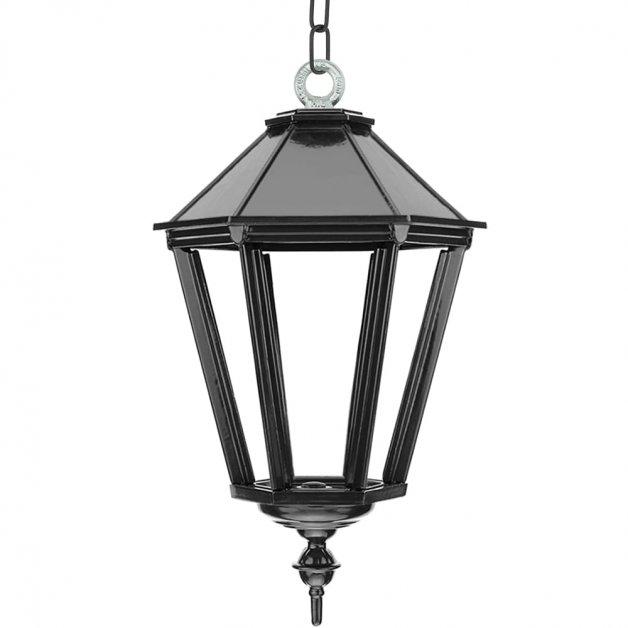 Buitenverlichting Klassiek Landelijk Kettinglamp Leusden met ketting XL - 70 cm