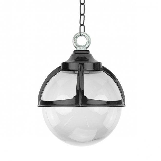 Veranda Beleuchtung Retro Rustikal Kettenlampe sauberes kugel Altforst - Ø 25 cm