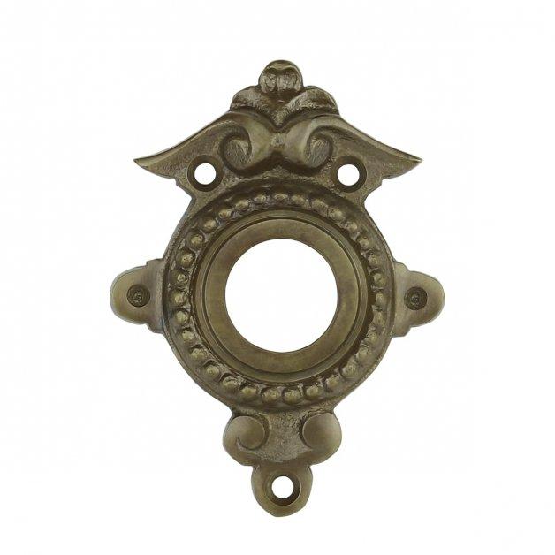 Hardware Door Rosettes Door rosette ornaments bronze Lübben - 75 mm