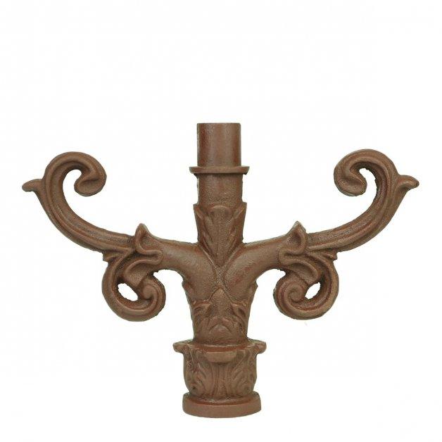 Außenleuchten Klassisch Ländlich Trittleiter unterstützung gusseisen - 25 cm