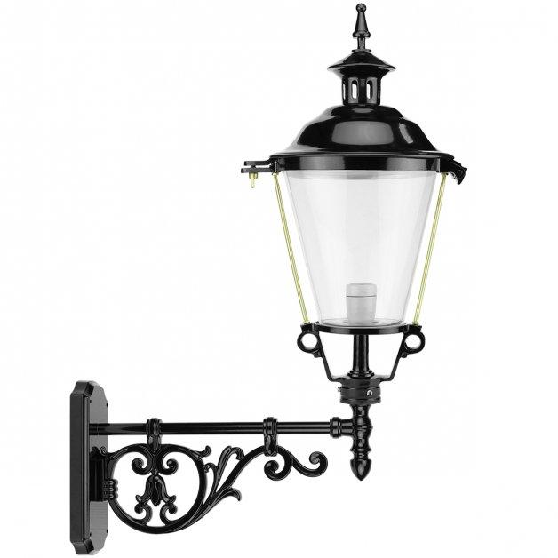 Buitenlampen Klassiek Landelijk Lantaarn gevel rond Houtigehage - 84 cm
