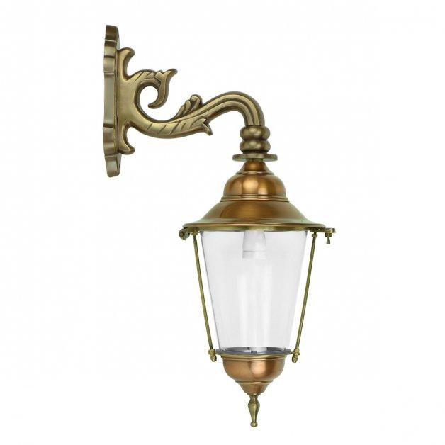 Buitenverlichting Klassiek Landelijk Lantaarn lamp buiten Bourtange brons - 55 cm