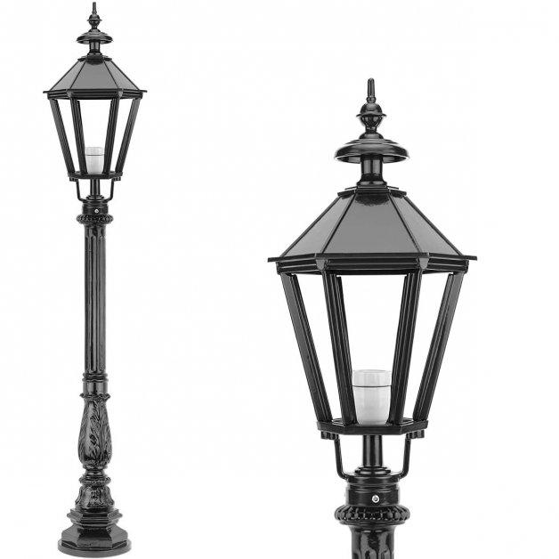 Außenbeleuchtung Klassisch Ländlich Laterne leuchten stehend Bleiswijk - 142 cm