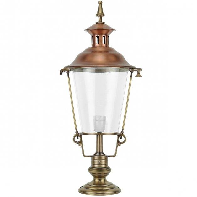 Outdoor Lighting Classic Rural Lantern on feet Balloërveld brass - 80 cm