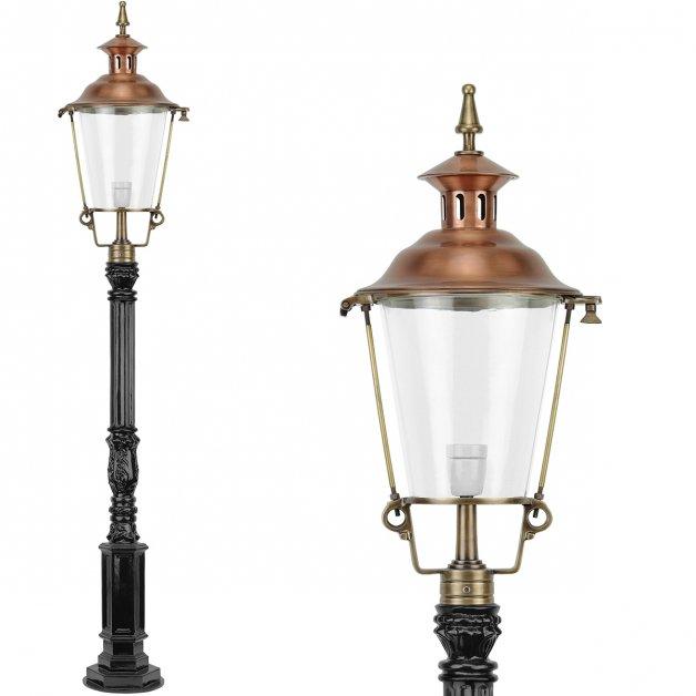 Outdoor Lamps Bronze Brass Lantern lamp copper Lemselo - 173 cm