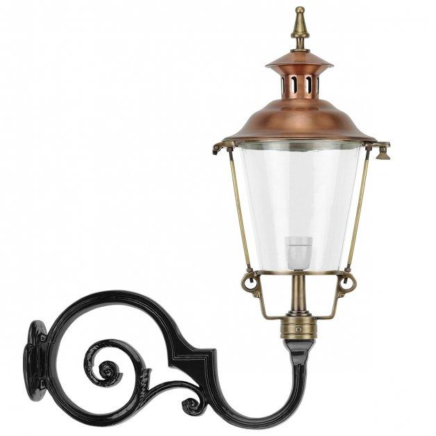 Buitenlampen Sprookjesachtig Lantaarnlamp muur brons Gilze - 100 cm