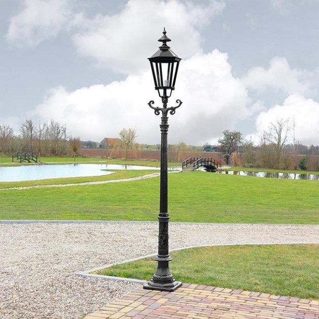 Außenbeleuchtung Klassisch Ländlich Laternenlampe sechseck Bovenkarspel - 280 cm