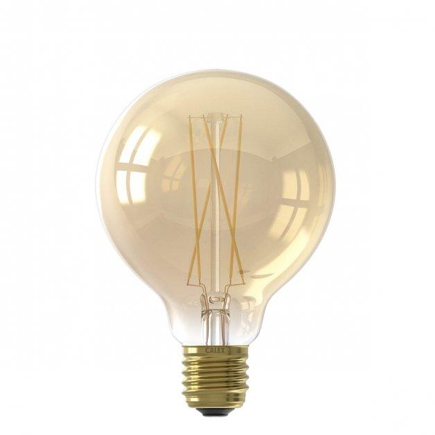 Buitenverlichting Lichtbronnen Led lichtbron filament Globe Goud - 4W