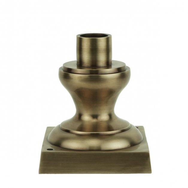 Außenbeleuchtung Komponenten Einzelne lampensockel M30BR messing - 13 cm
