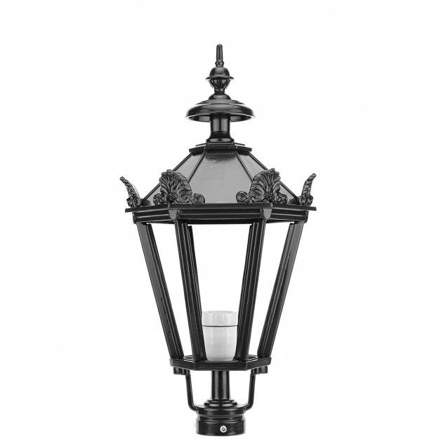Buitenverlichting Klassiek Landelijk Losse lantaarnkap K12+ met kronen - 63 cm