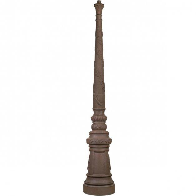 Außenbeleuchtung Komponenten Einzelne laternenpfahl gusseisen M01 - 240 cm