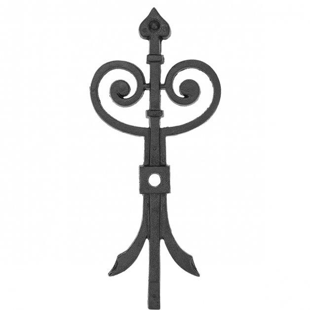 Geveldecoratie Klassiek Landelijk Muuranker ornament gietijzer - 49 cm