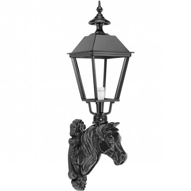 Außenbeleuchtung Klassisch Ländlich Wandleuchte Almkerk pferd ornament - 84 cm