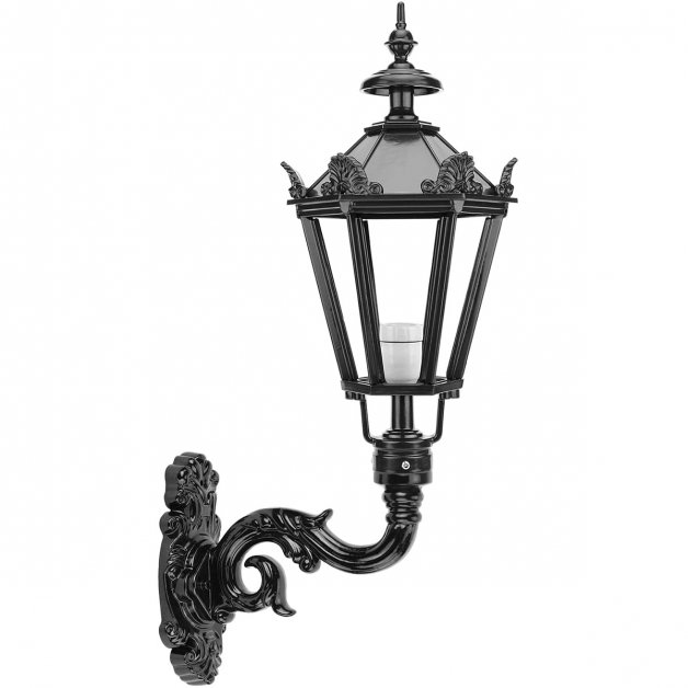 Outdoor Lighting Classic Rural Wall Lamp Bergeijk with crowns - 85 cm