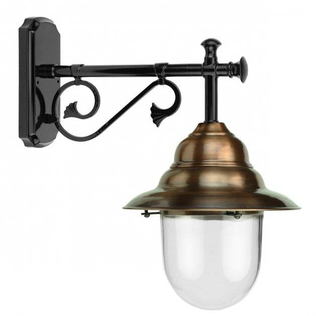 Buitenlampen Klassiek Landelijk Muurlamp lange stang Avest koper - 51 cm
