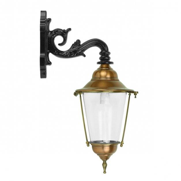 Buitenverlichting Klassiek Landelijk Muurlamp lantaarn Aagtdorp koper - 55 cm