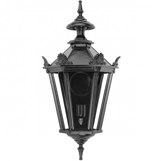 Buitenverlichting Klassiek Landelijk Muurlamp Zwolle met kronen L - 64 cm