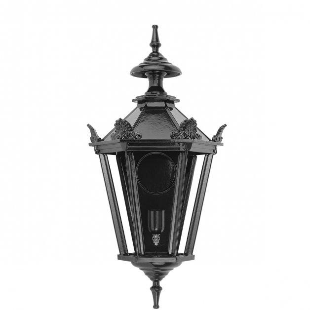 Buitenverlichting Klassiek Landelijk Muurlamp Zwolle met kronen M - 52 cm