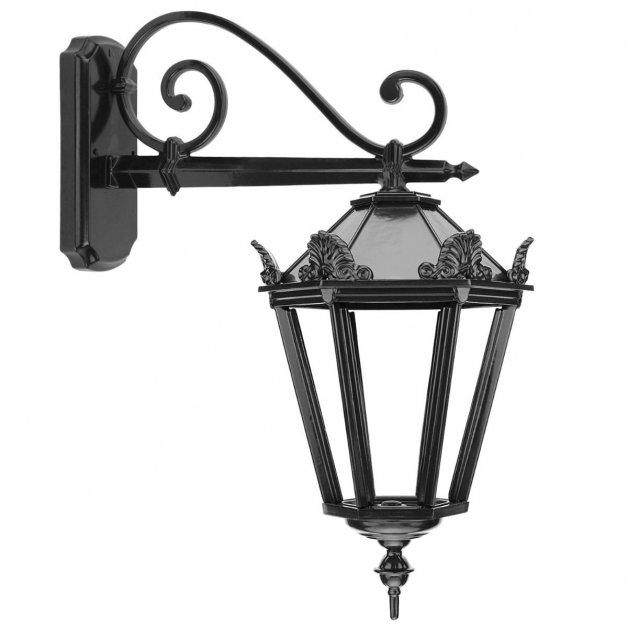 Buitenlampen Klassiek Landelijk Muurlantaarn hangend Collendoorn - 65 cm