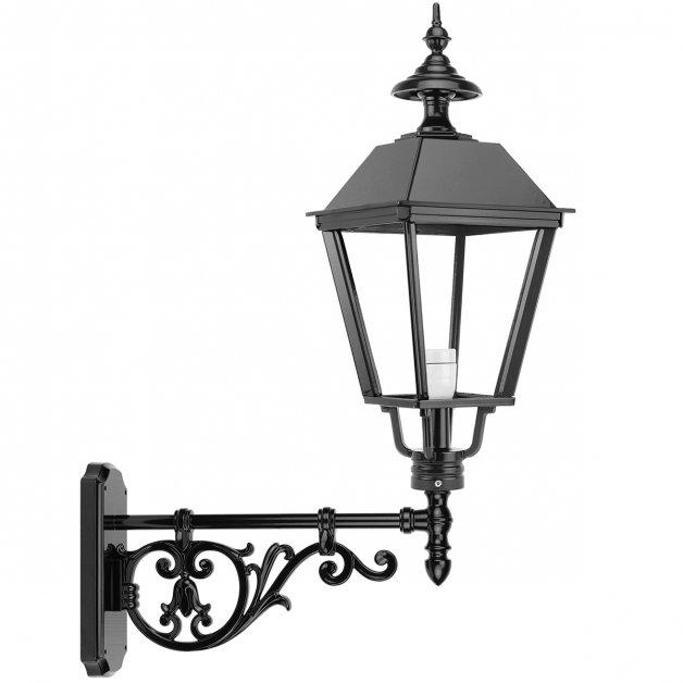 Buitenlampen Rustiek Nostalgisch Muurlantaarn vierkant Zwagerbosch - 84 cm