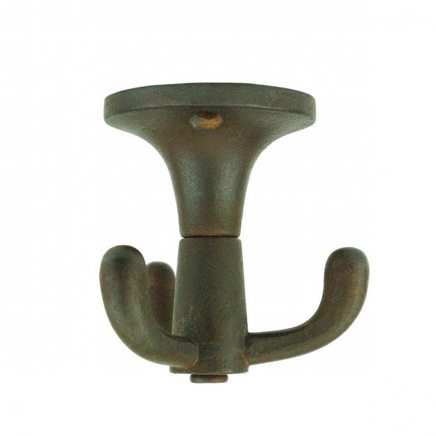 Hardware Wardrobe Hooks Ceiling hook coat rotatable iron Calw - 63 mm