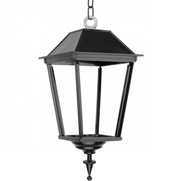 Buitenverlichting Klassiek Landelijk Plafondlamp Dokum aan ketting L - 55 cm