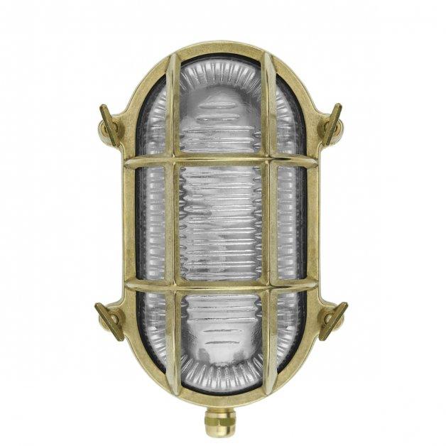 Außenbeleuchtung Bronze Kupfer Schiffsleuchte bulleye messing Bering - 20 cm