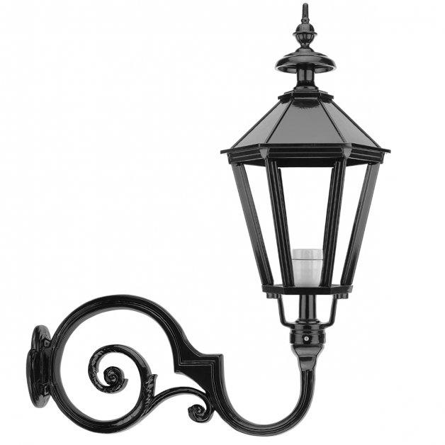 Wall Lamps Old Fashioned Atmospheric lamp Allardsoog - 95 cm - Black