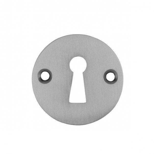 Hardware Door Rosettes Key plate brushed nickel Haiger - Ø 45 mm
