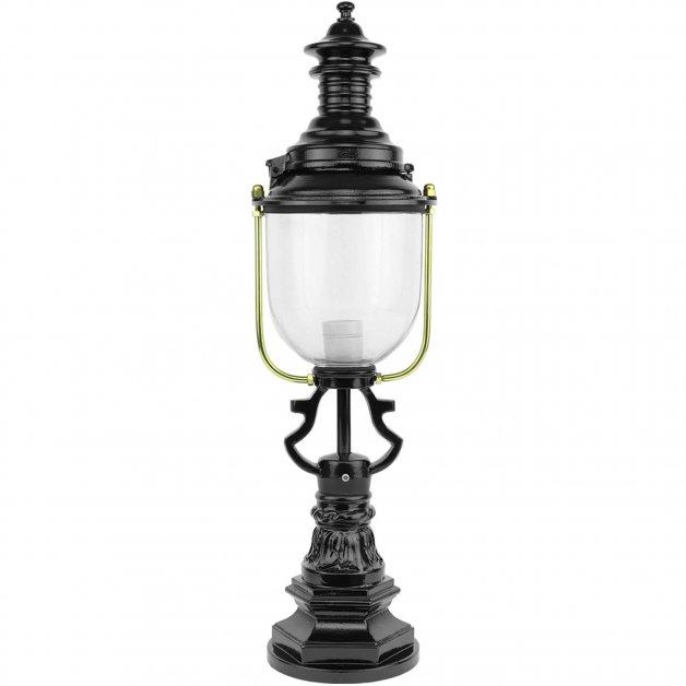 Outdoor Lighting Classic Rural Pedestal lamp driveway Herbaijum - 76 cm