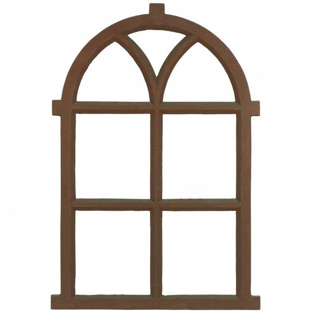 Fensterdekoration Baubeschläge Stallfenster antik schweres gusseisen - 65.5 cm