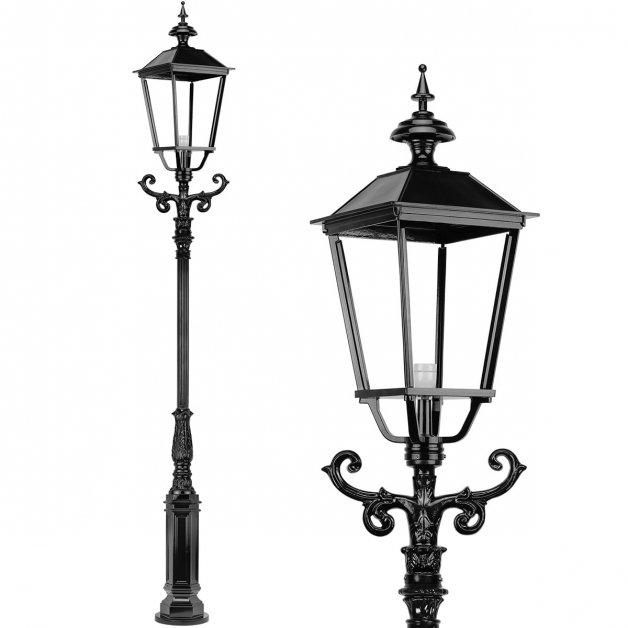 Buitenlampen Lantaarnpalen Straatlamp monumentaal Luxwoude - 325 cm