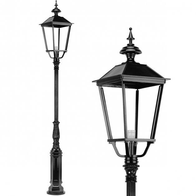 Buitenlampen Lantaarnpalen Straatlantaarn rustiek Kockengen - 300 cm