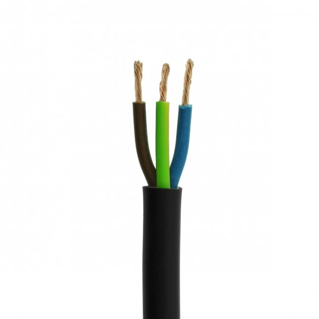 Außenbeleuchtung Verbindungsmaterial Stromkabel 3 x 0.75 mm2 VMVL - 5 m