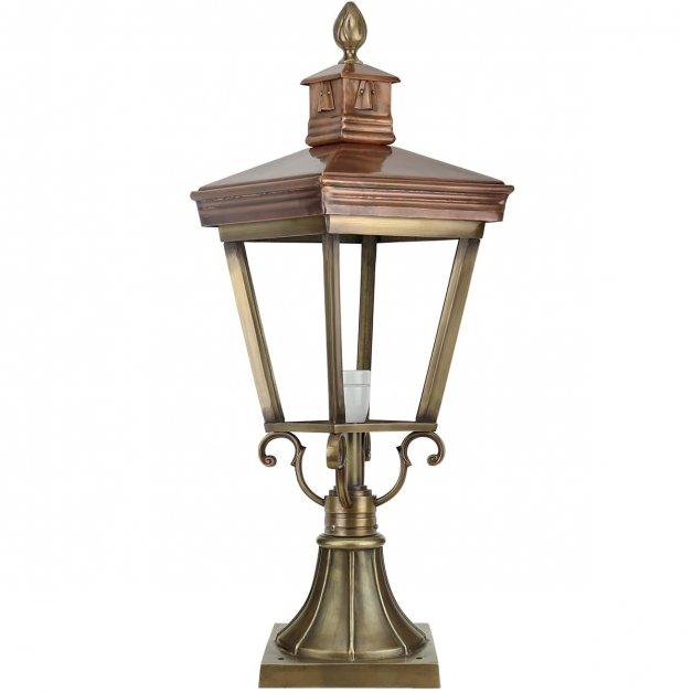 Buitenverlichting Klassiek Landelijk Terraslamp Dalfsen Brons - 75 cm