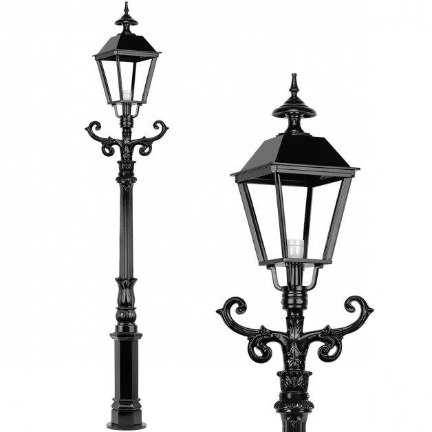 Außenbeleuchtung Klassisch Ländlich Terrassen laterne hoche Scharwoude - 220 cm