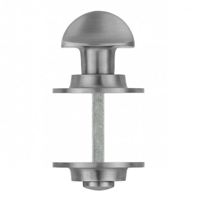 Deurbeslag Toiletsluitingen Toiletstift mat nikkel vrij bezet - Ø 50 mm