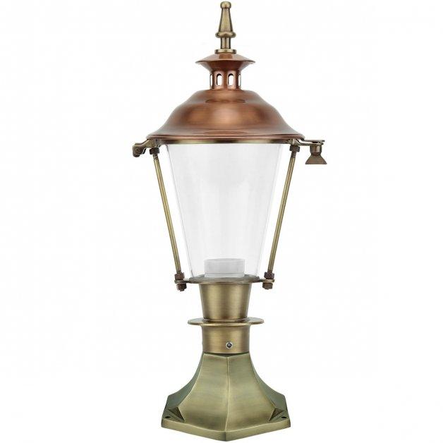 Outdoor Lamps Antique Classic Garden lamp ground Haghorst brass - 52 cm