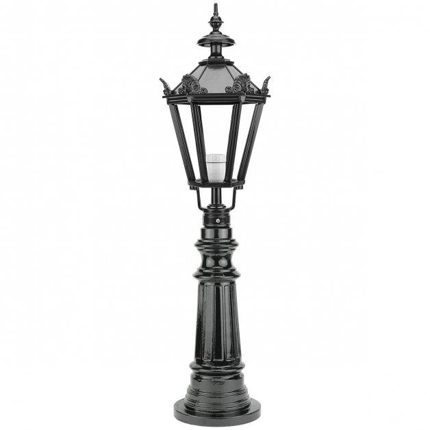 Außenbeleuchtung Klassisch Ländlich Gartenlampe Oldambt mit kronen - 98 cm