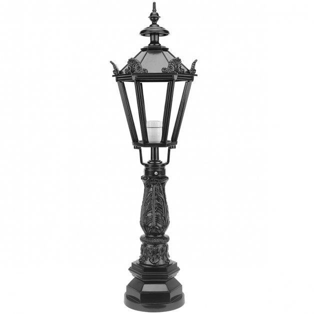 Außenbeleuchtung Klassisch Ländlich Gartenlampe stehend Kelmond kronen - 112 cm