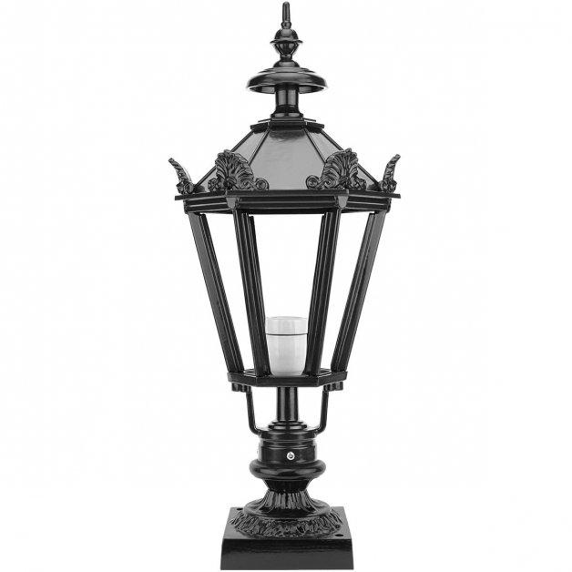 Außenlampen Rustikal Klassisch Gartenlaterne auf sockel Leveroy - 62 cm