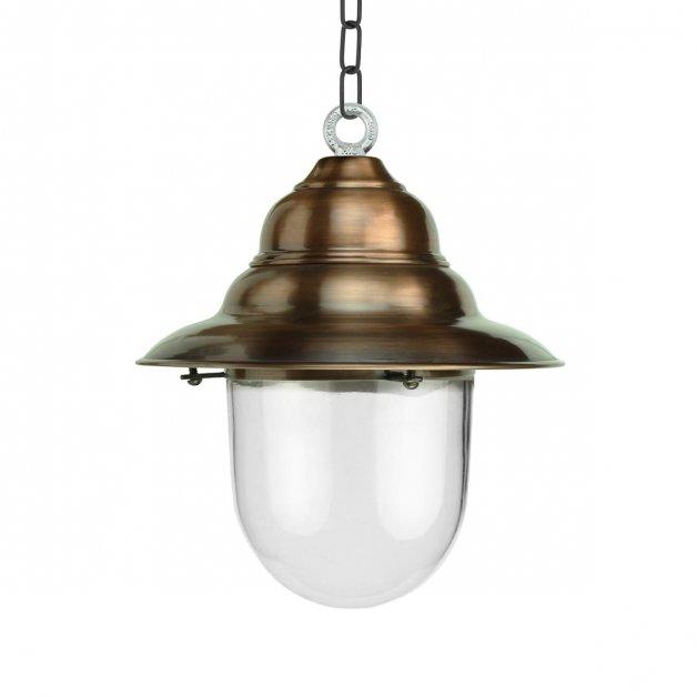 Buitenverlichting Klassiek Landelijk Veranda lamp rustiek Archem koper - 35 cm