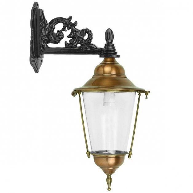Buitenlampen Klassiek Landelijk Wand lantaarntje Daniken koper - 45 cm