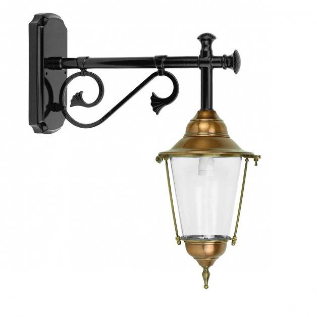 Buitenlampen Klassiek Landelijk Wandlamp boerderij Breemen koper - 53 cm